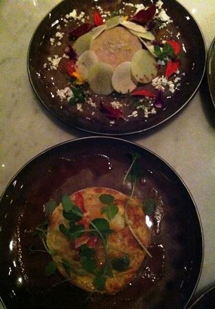 foie gras and lobster ravioli