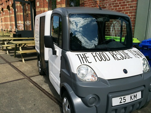 InStock food rescue van
