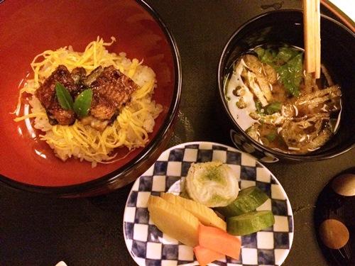 Yamazato Amsterdam restaurant - eel soup