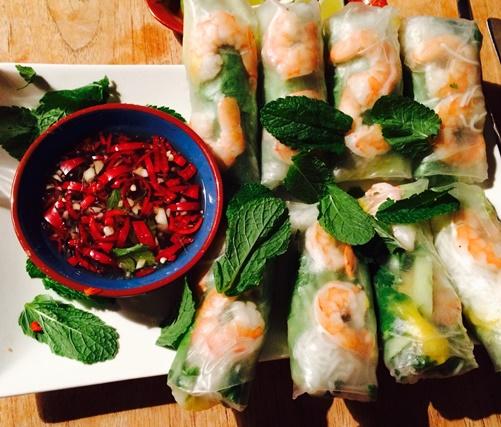 Vietnamese spring rolls - Amsterdam
