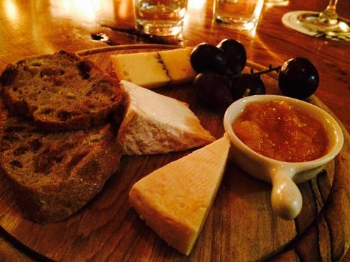 Volt restaurant Amsterdam - cheese Kef