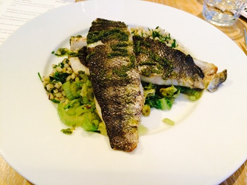 Bardot Amsterdam - sea bass