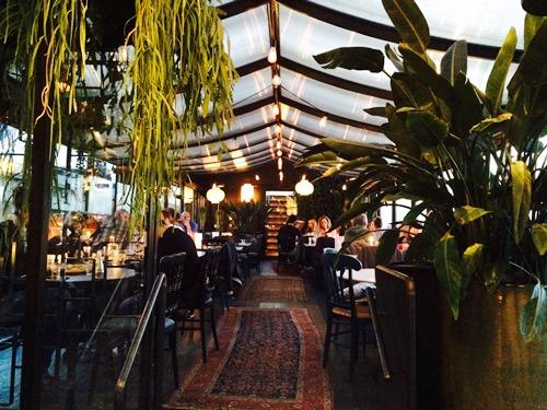Odessa Amsterdam restaurant - interior
