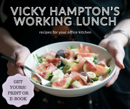 Lunch cookbook vicky hamptons working lunch the book features 50 easy recipes in english covering fresh vibrant salads cool summery soups spicy couscous and pimped up sandwiches forumfinder Images