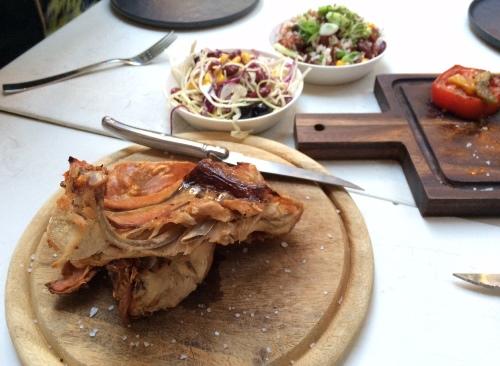 Pork salmuera