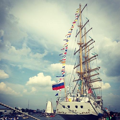 SAIL Amsterdam - tall ship