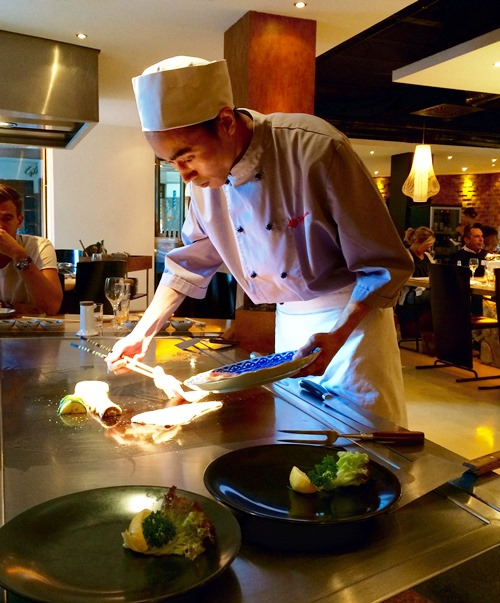 Teppanyaki grill - Hosokawa