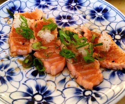 De Japanner - salmon tataki
