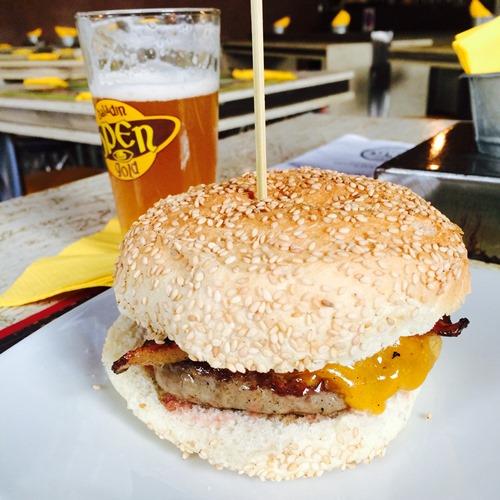 Open Baladin burger - Rome