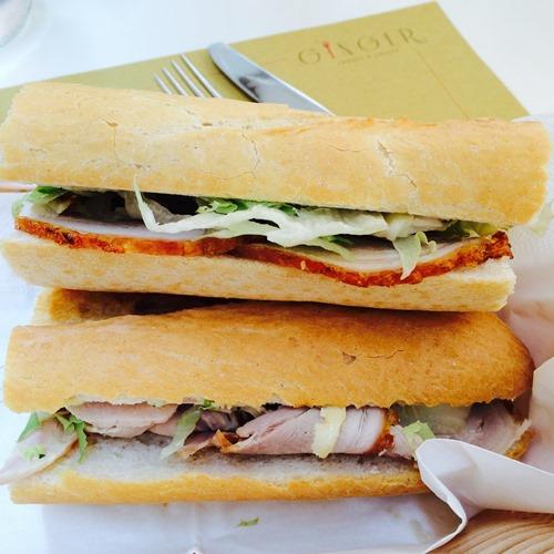 Porchetta panini - Ginger - Rome