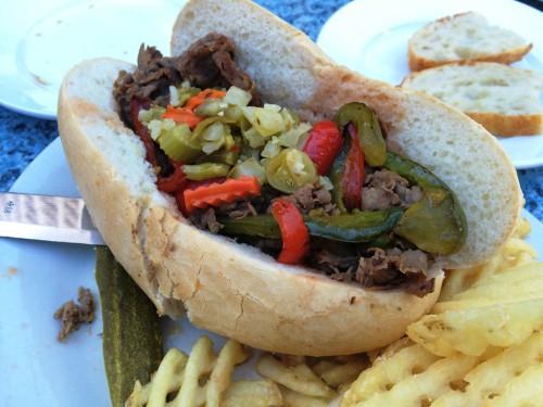 Chicago - Italian beef sandwich