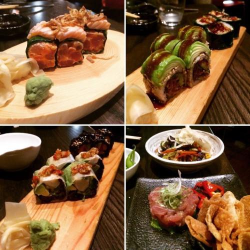 Chicago - sushi at Union