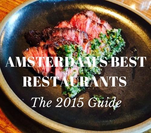 Amsterdam's Best Restaurants