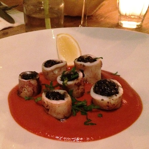 La Cacerola romantic restaurant