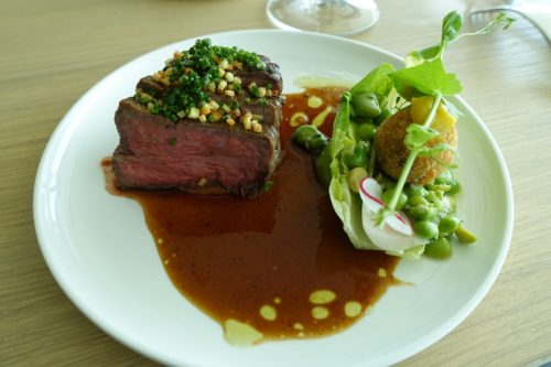 Moon's beef, with a tasty Asian-fusion element