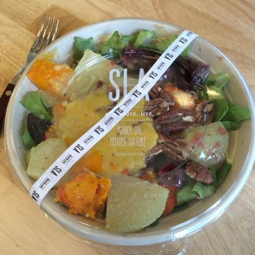 SLA: nutrition-packed salads to eat in or take away