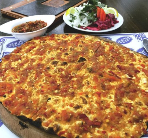 Lahmacun - just don't call it pizza!