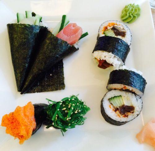Yummie sushi at Pho & Yummie