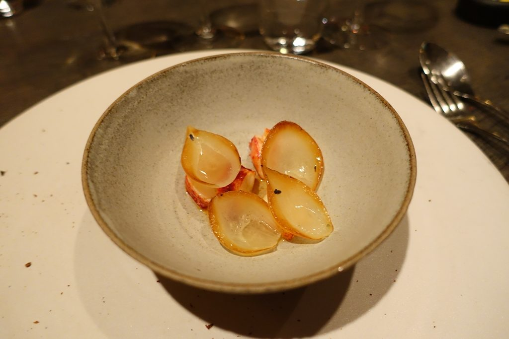 Lobster and lavender