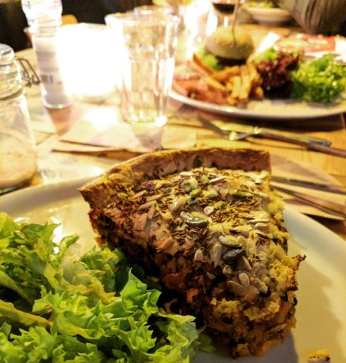 Cafe de Ceuvel - Amsterdam vegetarian restaurant review