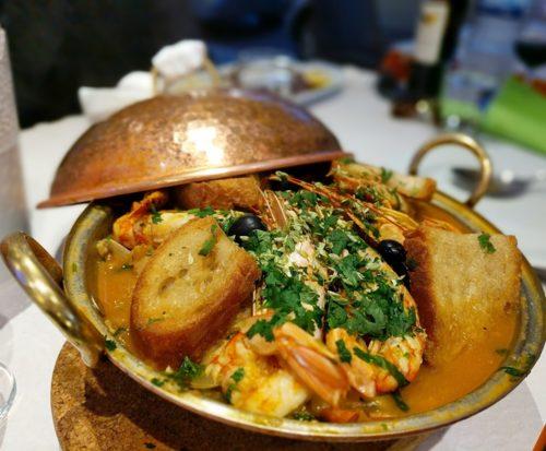 Faro restaurant - Chefe Branco - cataplana