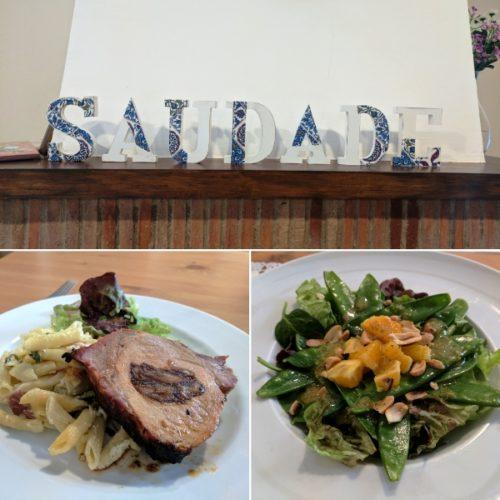 Faro restaurant - Saudade em Portugues