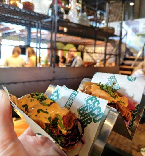 ESCOBAR restaurant Amsterdam - tacos