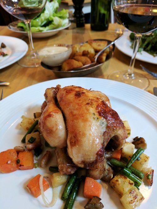 Rijsel Amsterdam restaurant - rotisserie chicken