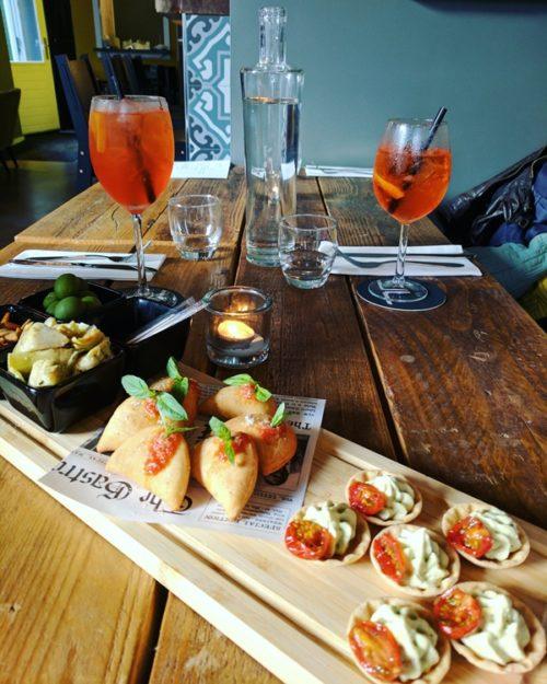 Amsterdam restaurant review - Primi aperitivo