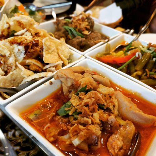 Kartika Indonesian restaurant in Amsterdam - rijsttafel