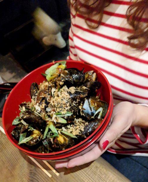 Shanghai Bistro mussels