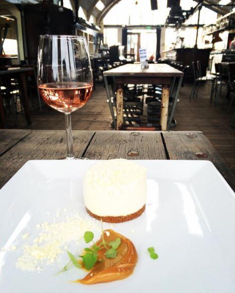 Pont13 restaurant Amsterdam - dessert