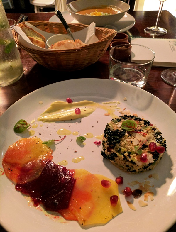 Marits Eetkamer - Amsterdam vegetarian restaurant review - salad ...