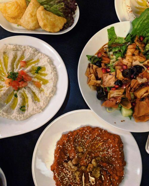 Sham Syrian restaurant Amsterdam