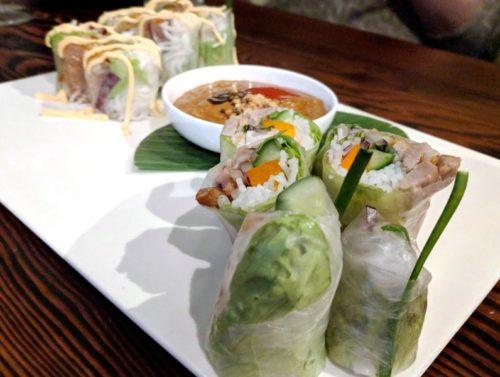 Asian restaurants in Amsterdam - Bo Nam - Vietnamese spring rolls