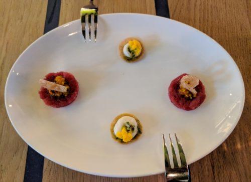 Floreyn restaurant Amsterdam - amuse-bouches