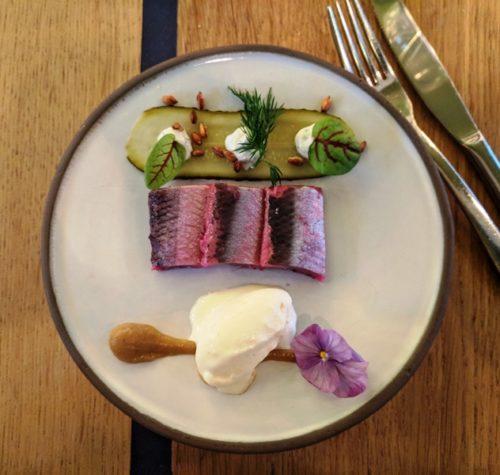 Restaurant Floreyn Amsterdam - rollmops