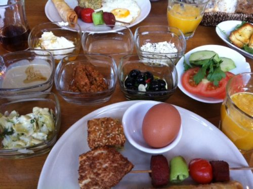 Turkish brunch in Amsterdam - Theatercafe Mozaiek