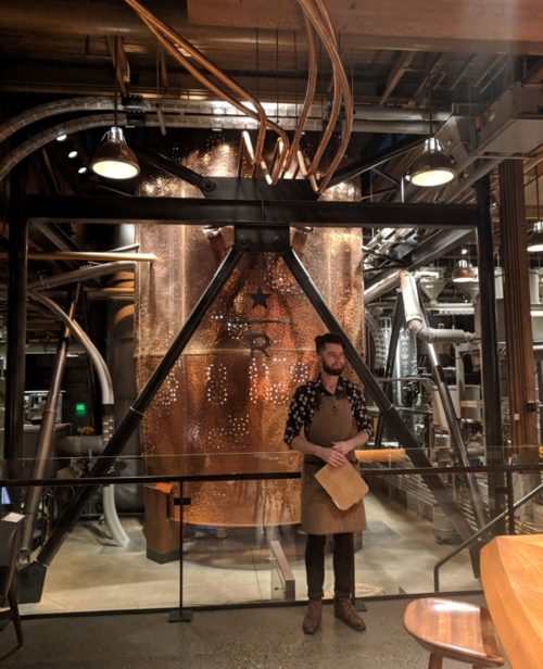 24 Hours in Seattle - Starbucks Roastery
