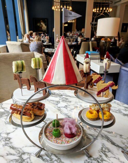Afternoon tea in Amsterdam - Waldorf Astoria Hotel