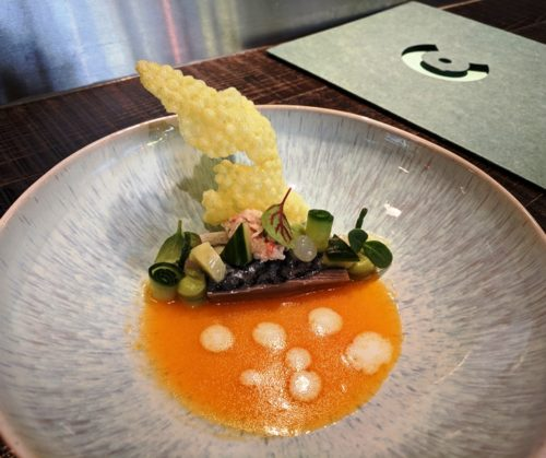 Restaurant C Amsterdam - mackerel