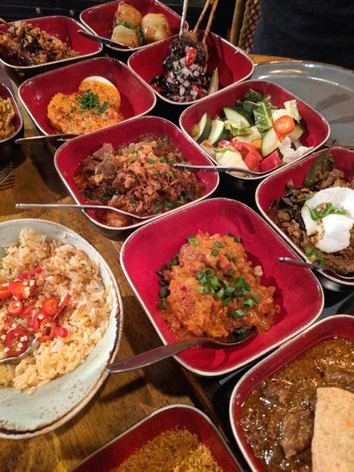 Ron Gastrobar Indonesia - rijsttafel