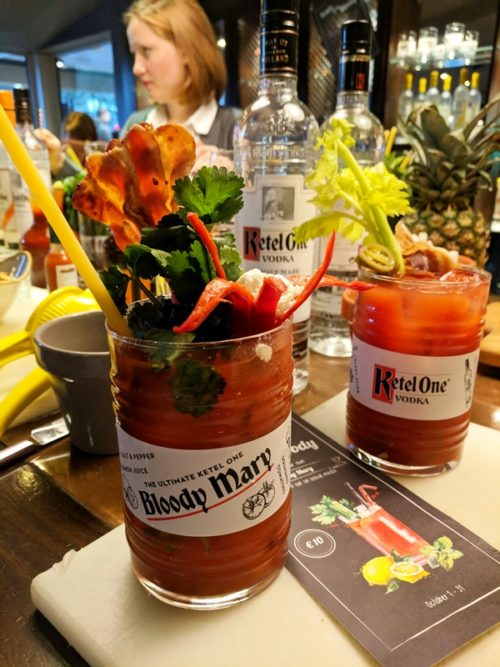 Bloody Mary Battle at Sorel's Bar, Amsterdam