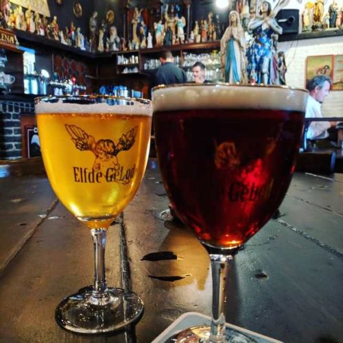 Beer at Elfde Gebod - 24 hours in Antwerp