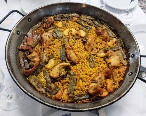 Valencia restaurants - La Pepica paella