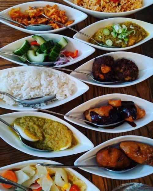 Indonesian restaurant in Amsterdam - Blauw rijsttafel