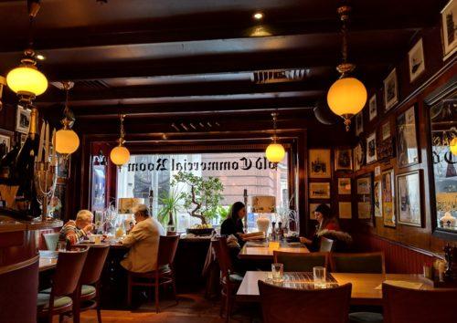 Hamburg restaurant - the Old Commercial Room