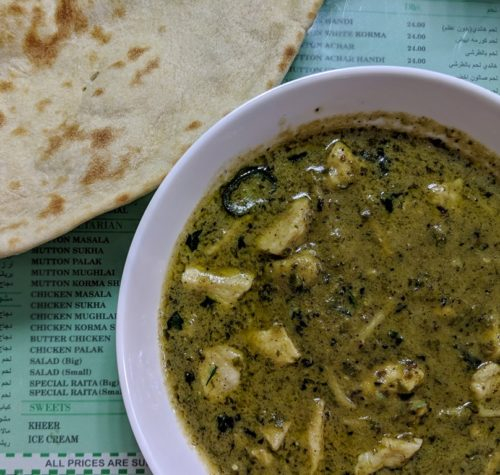 Restaurants in Dubai - curry at Ravi's