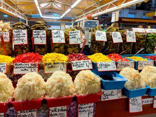 Riga Central Market - pickles