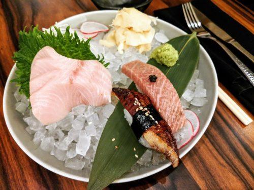 Riga restaurant The Catch - sushi